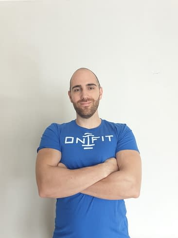 Very happy crossed arms Personal Trainer in Mill Hill